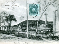 Tenerife La Laguna Cruz de Piedra