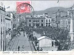 Tenerife Misa de Campana Plaza Constitucion