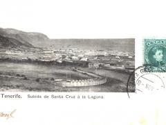 Tenerife Subida de Santa Cruz a la Laguna