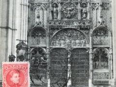 Toledo Catedral Interior de la Puerta de los Leones