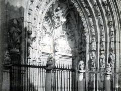 Toledo La Catedral Puerta de los Leones