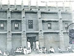 Niger Palais d'Aguibou a Baudiagara