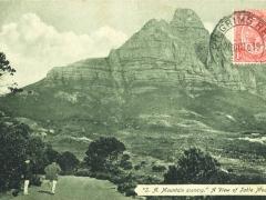 Mounten Scenery a view of Table Mountain