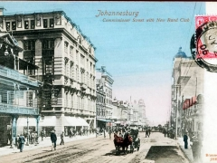 Johannesburg Commissioner Street with New Rand Club