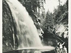 Böhm Schweiz Edmundsklamm Wasserfall