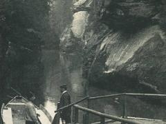 Böhm Schweiz Edmundsklamm der breite Stein