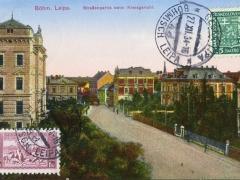 Böhmisch Leipa Strassenpartie beim Kreisgericht