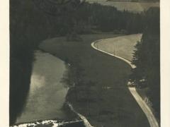 Blick vom Hradiskafelsen in das Mohratal