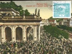 Karlovy Vary Lazensky ruch u mlynske studne