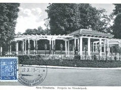 Neu Titschein Pergula im Mendelpark