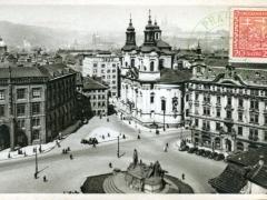 Prag Altstädter Ringplatz vor der Tein Kirche