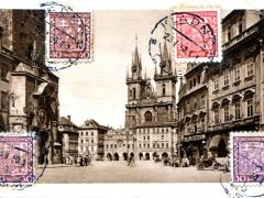 Prag Altstädter Turmuhr Teinkirche