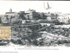Bethleem Perspective des Couvents et de la Basilique de la Nativite