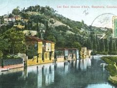 Constantinople Bosphore Les Eaux douces d'Asie