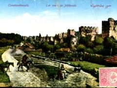 Constantinople Les murs de Jedikoule