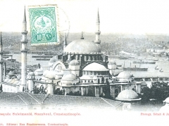 Constantinople Mosquee Suleimanie Stamboul