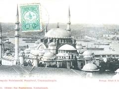 Constantinople Mosquee Suleimanie Stamboul