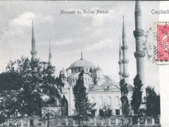 Constantinople Mosquee du Sultan Ahmed