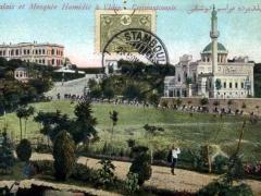 Constantinople Palais et Mosquee Hamidie a Yldiz