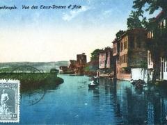 Constantinople Vue des Eaux Douces d'Asie