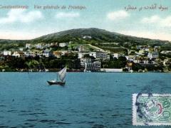 Constantinople Vue generale de Prinkipo
