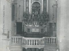 Interieur de l'Eglise du Carmel