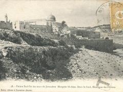Jerusalem Pointe Sud Est des murs