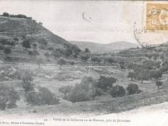 Jerusalem Vallee de la Gehenne ou de Hinnon
