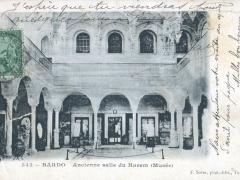 Bardo Ancienne salle du Harem Musee