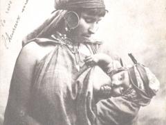 Bedouine allaitant