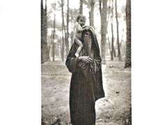 Femme arabe et son entfant