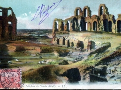 Interieur du Colisee datail