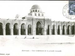 Kairouan-Cour-interieure-de-la-grande-mosquee