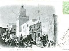 Sfax-Entree-de-la-Ville-Arabe
