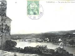 Tabarca Vue prise du Fort Genois
