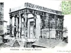 Tebessa Le Temple de Minerve