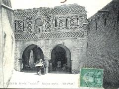 Tozeur Derid Tunisie Maison arabe