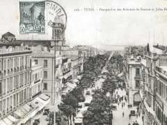 Tunid Perspective des Avenues de France et Jules Ferry
