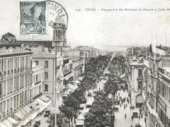 Tunid Perspective des Avenues de France et Jules Ferry