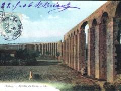 Tunis Aqueduc du Bardo