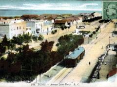 Tunis Avenue Jules Ferry