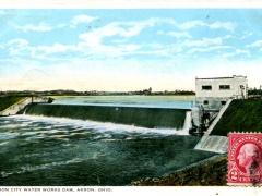 Akron-City-Water-Works-Dam