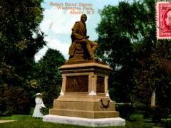 Alabany-NY-Robert-Burns-Statue-Washington-Park