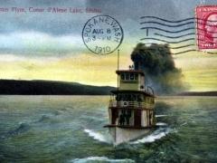 Alene Lake Steamer Flyer