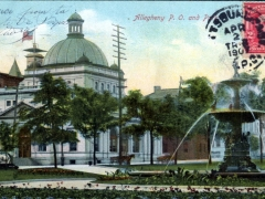 Allegheny P O and Park