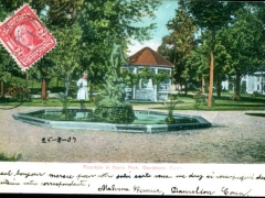 Danielson Fountain in Davis Park