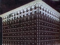 Denver Gas and Electric Building at Night