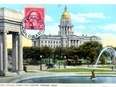 Denver State Capitol from Civic Center