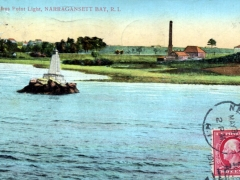 Narragansett Bay Sassafras Point Light