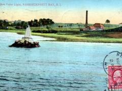 Narragansett Bay Sassafras Point Light